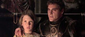 Joaquin Phoenix and Spencer Treat Clark in Gladiatore (2000)