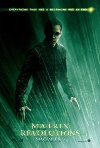 Matrix Revolutions (2003) poster