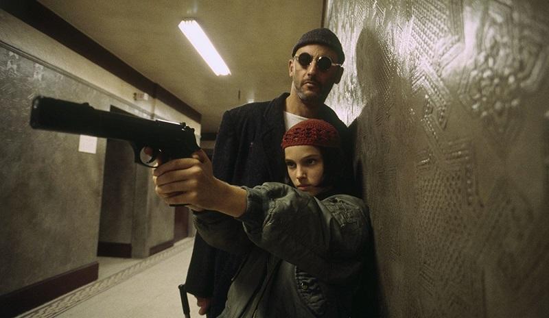 Natalie Portman e Jean Reno film Léon (1994)