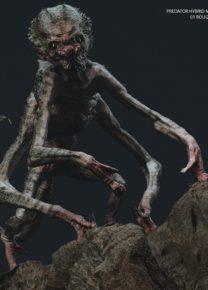 Shane Black The Predator concept scimmie