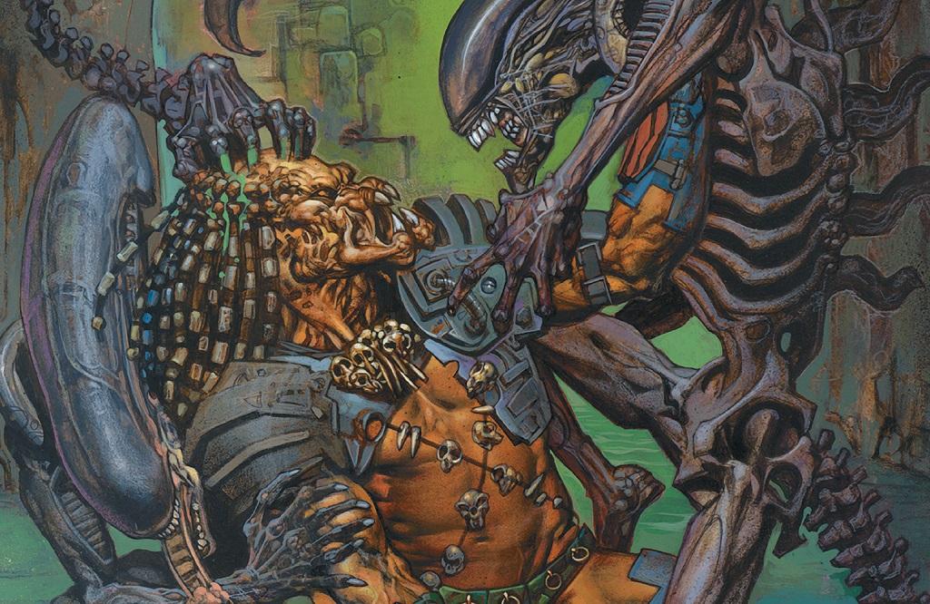 aliens versus predator dark horse