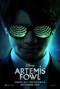 artemis fowl poster film