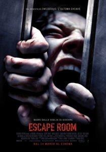 escape room film poster ita