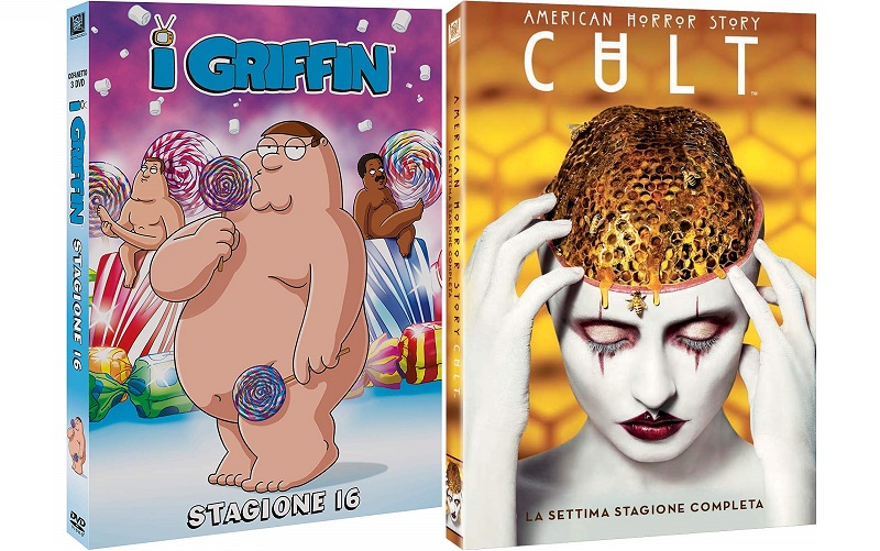 i griffin 16 + american horror story 7 cult dvd