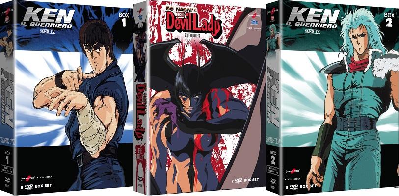 Recensione dvd ken il guerriero box e the devil lady