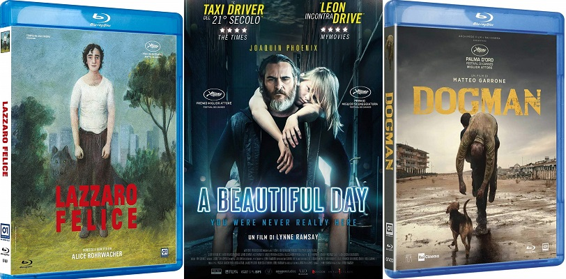 lazzaro felice dogman a beautiful day dvd blu-ray