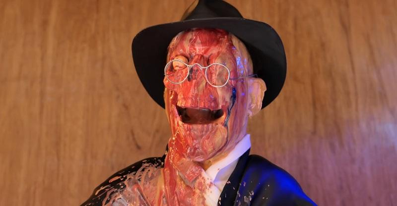 predatori arca perduta Steven Richter statua