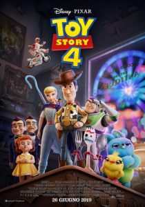 toy story 4 poster ita