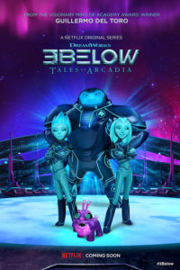 3Below Tales of Arcadia serie poster