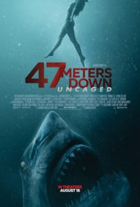 47 Meters Down Uncaged film poster