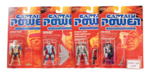 Capitan Power e i combattenti del futuro action figures