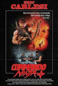 Commando Ninja (2018) film poster