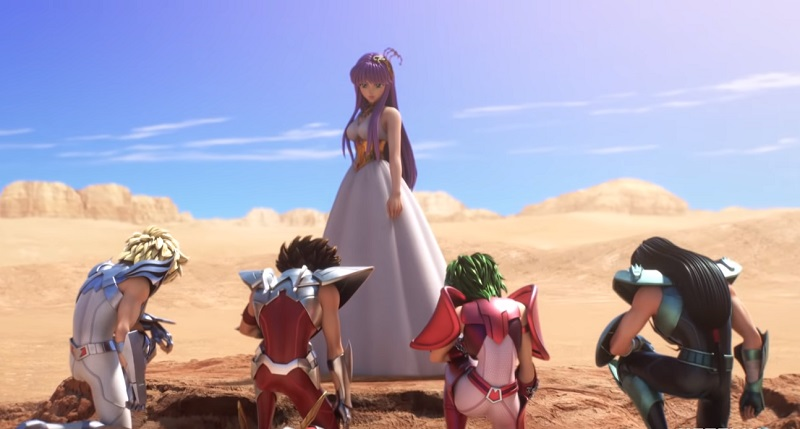 Netflix rivela il primo trailer de I Cavalieri dello Zodiaco: Saint Seiya