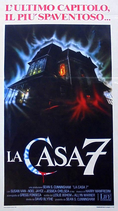 La casa 7 poster