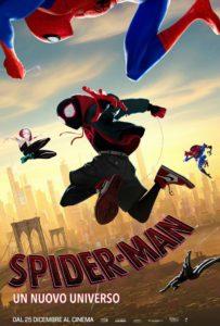 Spider-Man Un Nuovo Universo film poster