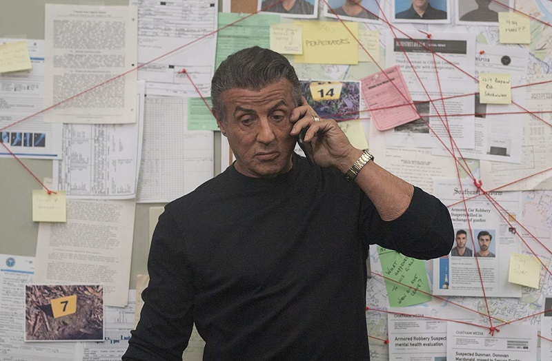 Sylvester Stallone in Backtrace (2018)