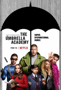 The Umbrella Academy (2019) serie netflix poster