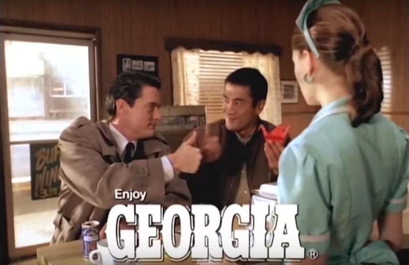 caffè georgia twin peaks spot