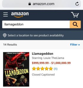 llamageddon film amazon