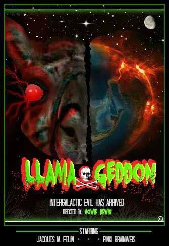llamageddon film poster