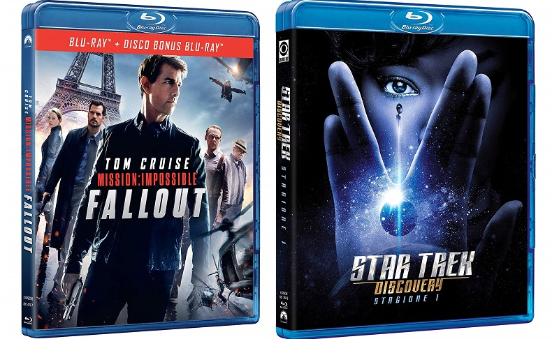 mission impossible fallout + star trek discovery 1 blu-ray