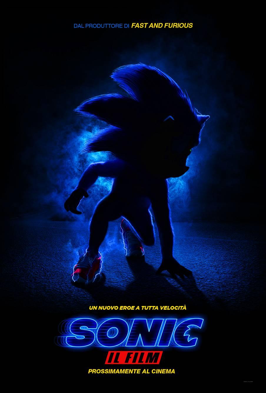 sonic il film poster
