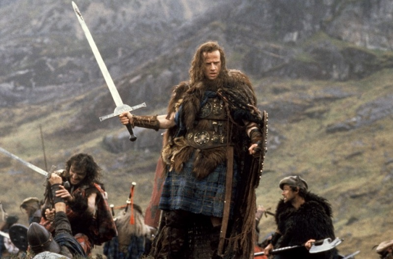 Christopher Lambert in Highlander (1986)