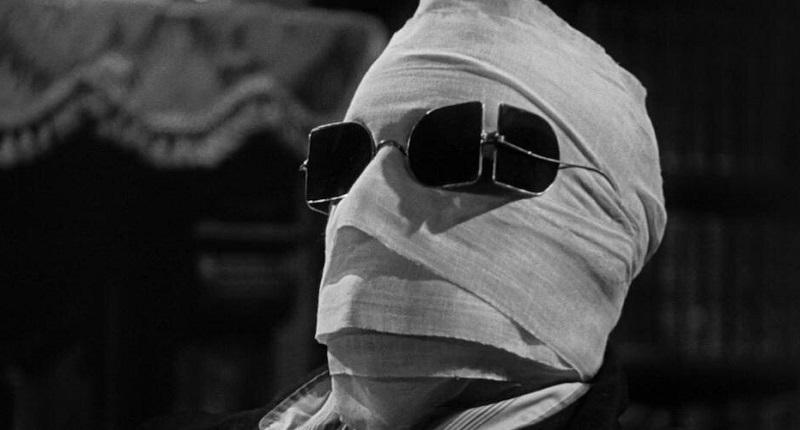 Claude Rains in L'uomo invisibile (1933)