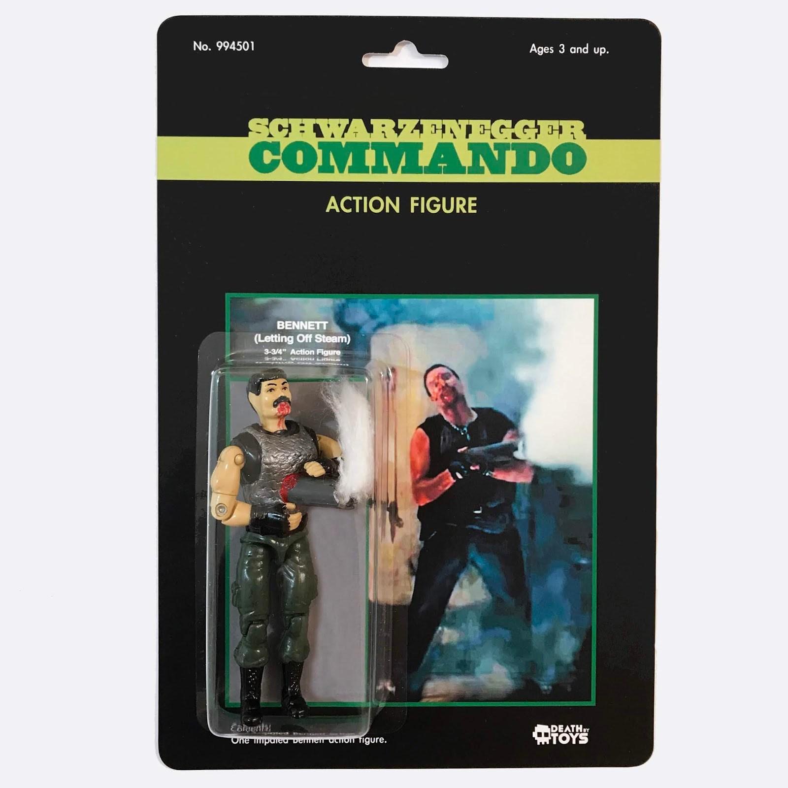 Dan Polydoris action figures customizzate morti anni '80 (3)