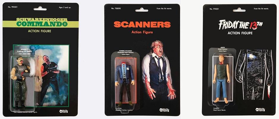 Dan Polydoris action figures customizzate morti anni '80 scanners venerdì 13