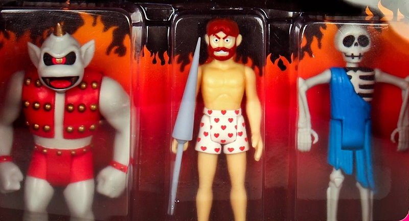 Ghosts 'n Goblins action figures collezione set