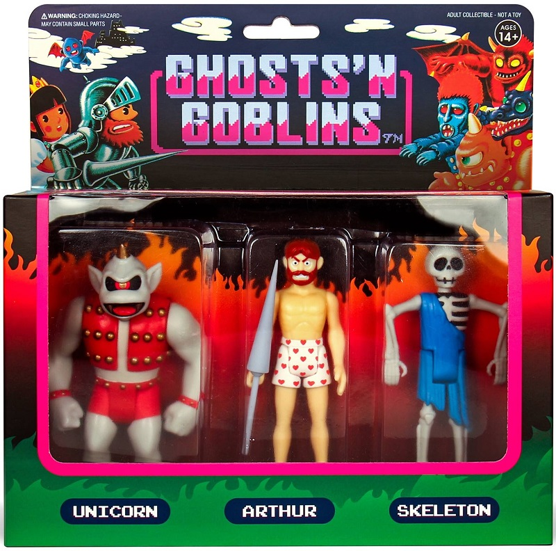 Ghosts 'n Goblins action figures collezione