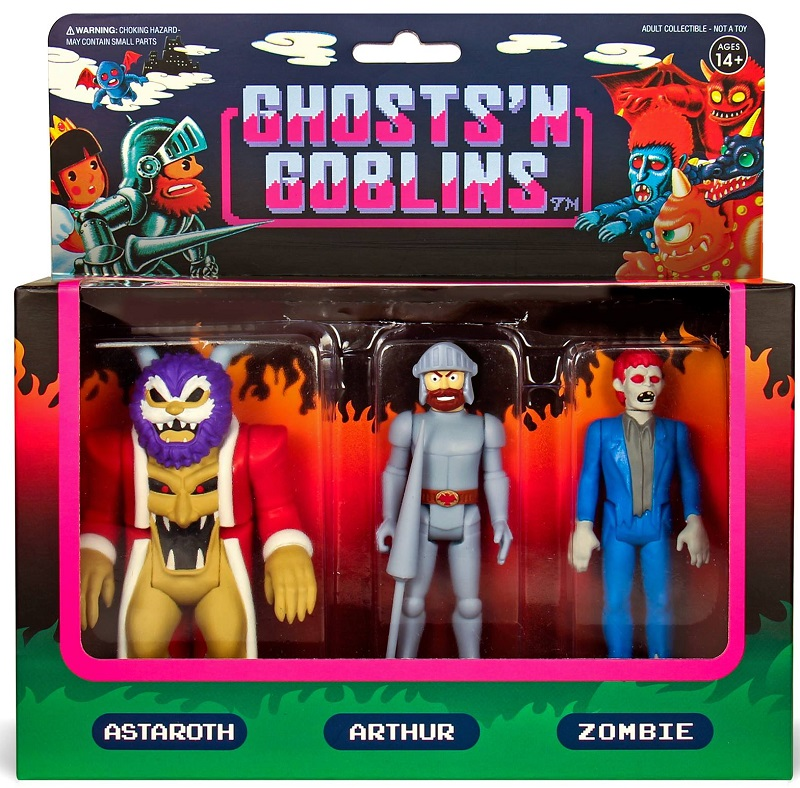 Ghosts 'n Goblins action figures