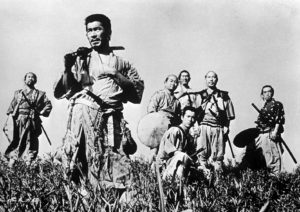 I sette samurai (1954) kurosawa film