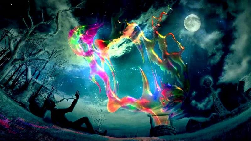 Il colore venuto dallo spazio
