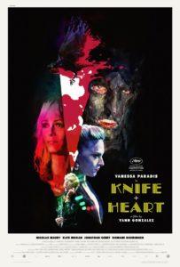 Knife + Heart film Poster Un couteau dans le coeur
