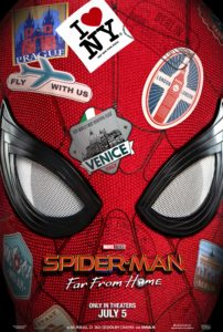 Spider-Man Far From Home film poster