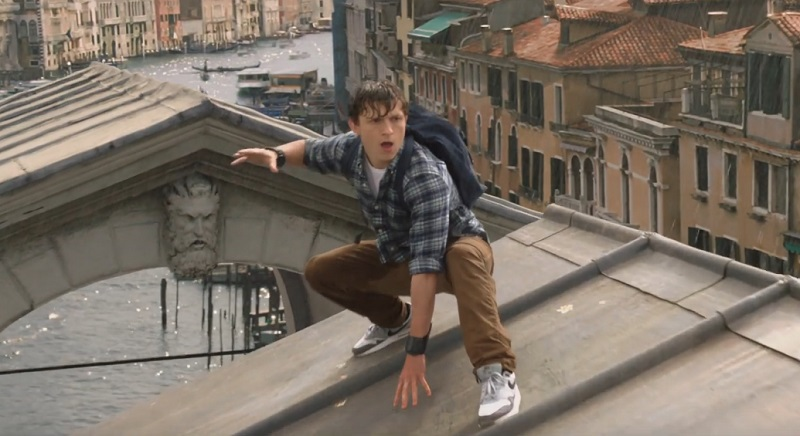 Spider-Man Far From Home film tom holland venezia
