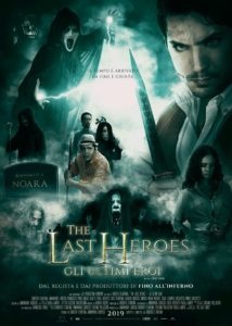 The Last Heroes film d'antona poster