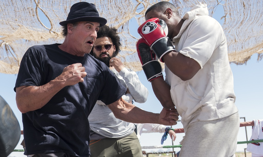 creed II set stallone jordan