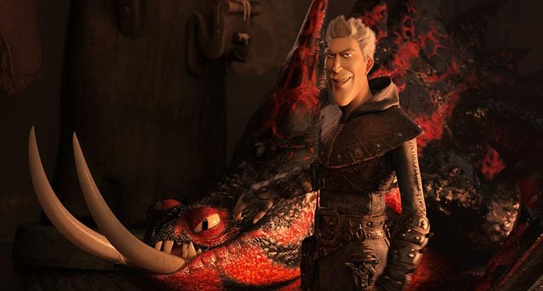 dragon trainer 3 mondo nascosto cattivo
