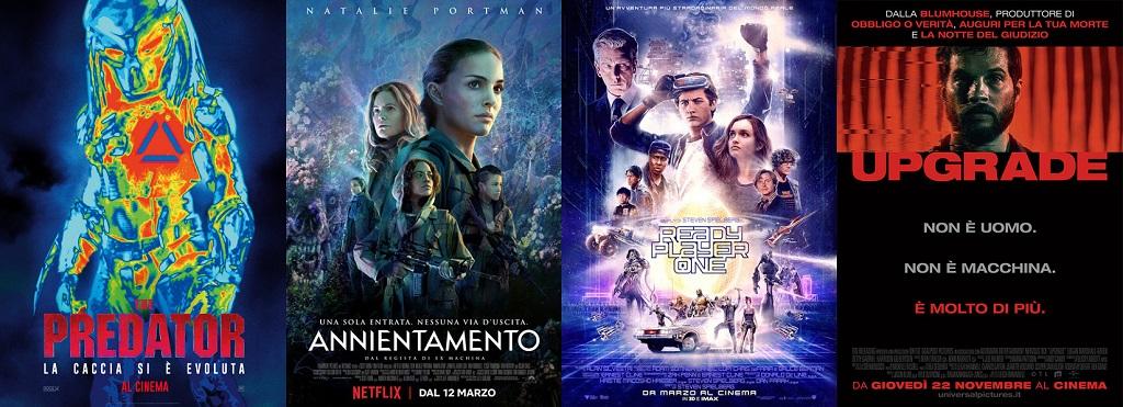 locandine poster film fantascienza 2018