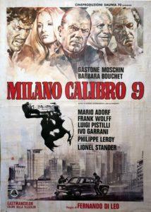 milano calibro 9 film manifesto
