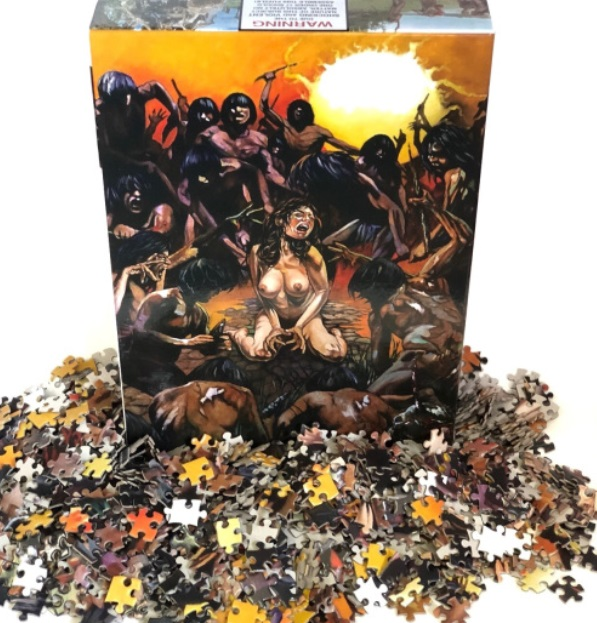 puzzle cannibal holocaust horror