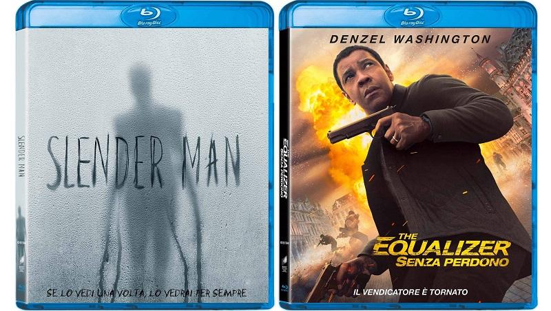 slender man e the equalizer 2 blu-ray