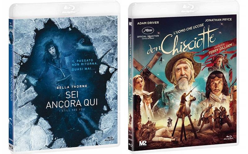 Blu-ray L'Uomo Che Uccise Don Chisciotte + Sei Ancora Qui - I Still See You