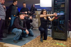 Brad Bird e Paula Patton set Mission Impossible - Protocollo fantasma