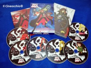 Capitan Harlock SSX Cofanetto dvd