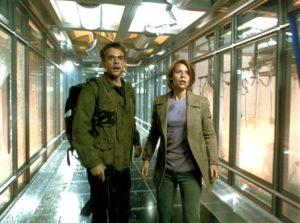 Claire Danes e Nick Stahl in Terminator 3