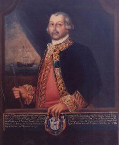 Il ritratto diBernardo De Galvez - quadri maledetti